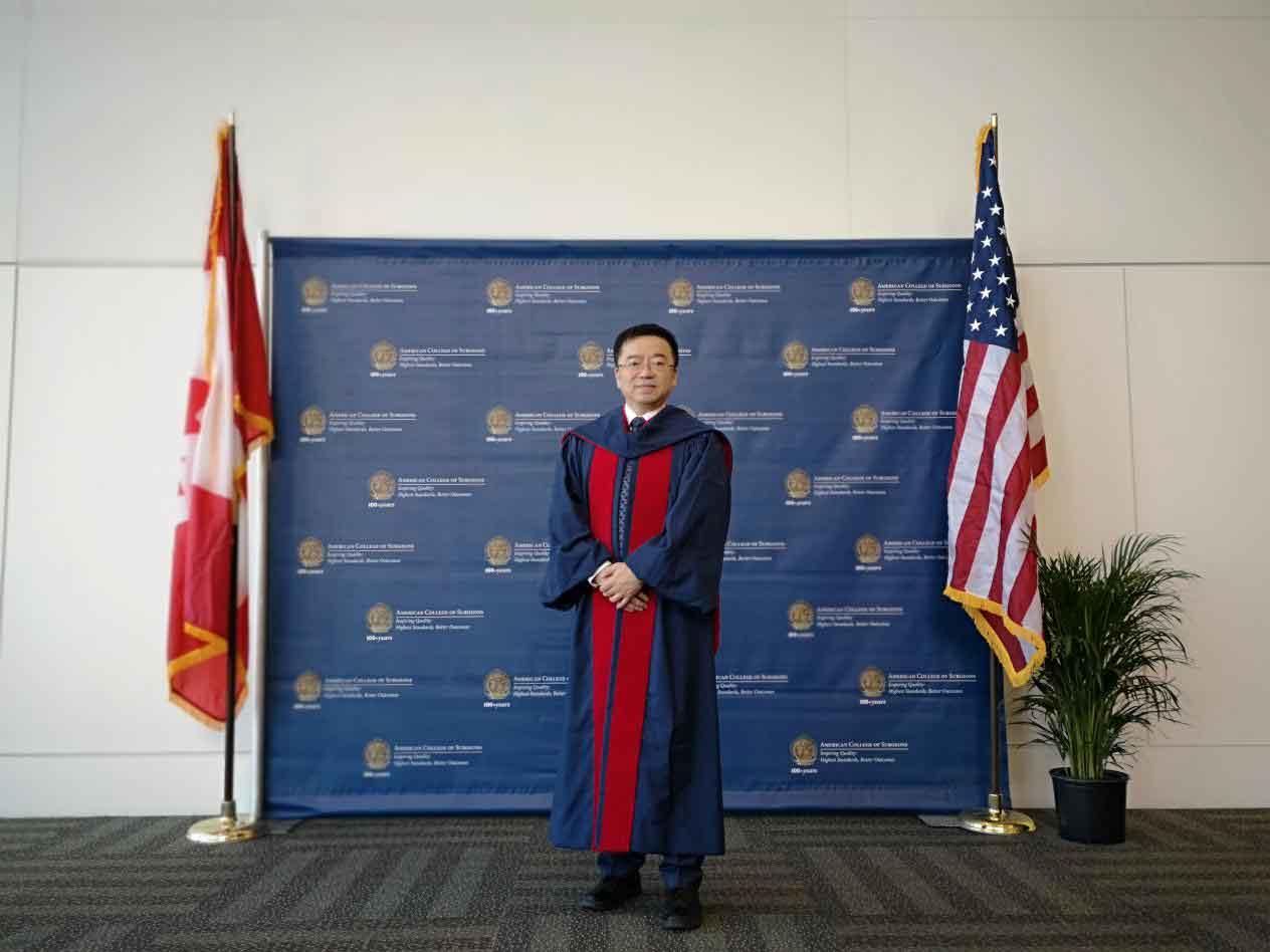 中国科大附一院执行院长刘连新教授入选美国ACS Fellow-第1张图片-C9联盟