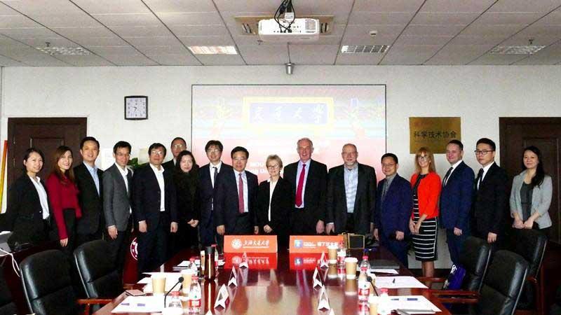 上海交通大学与诺丁汉大学签署合作备忘录
