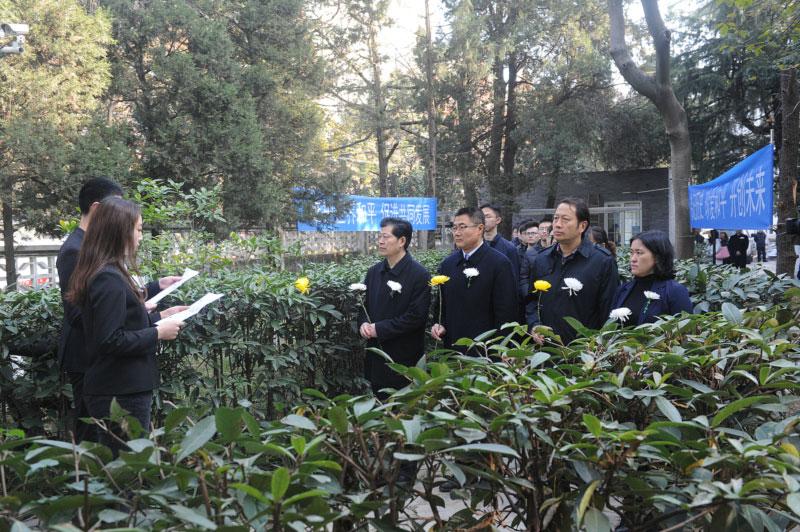 南京大学:勿忘历史 珍爱和平 我校举行国家公祭日纪念活动