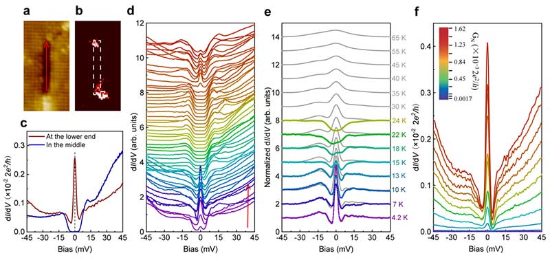 北京大学:《自然•物理》报道王健及合作者的最新成果:一维原子链缺陷两端零能束缚态的发现-第1张图片-C9联盟