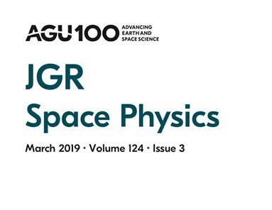 北京大学宗秋刚教授当选Journal of Geophysical Research–Space Physics期刊主编