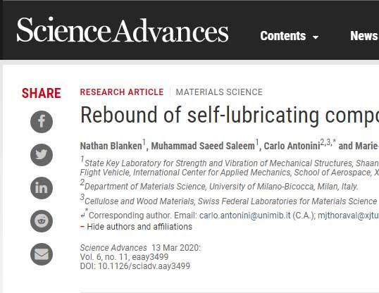 西安交大国际团队在自润滑液滴反弹研究中取得新进展