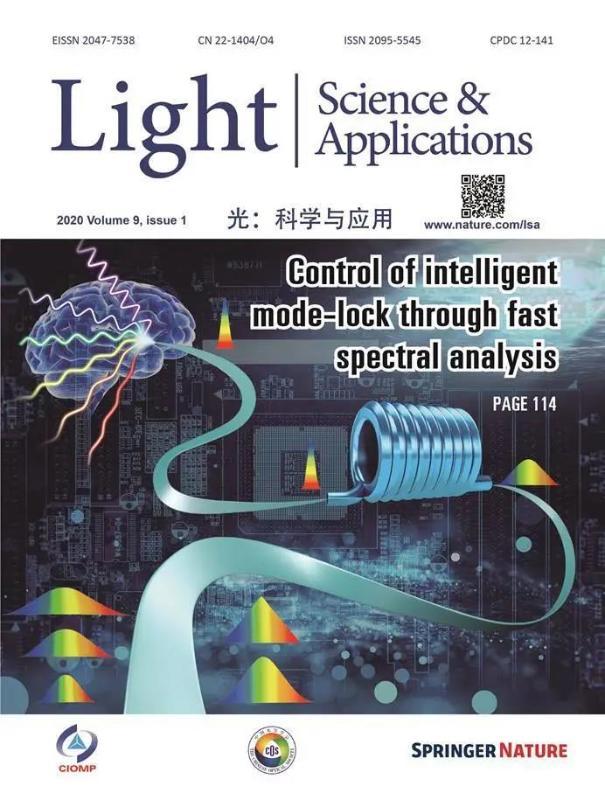 上海交大义理林科研团队相关成果入选国际光学顶尖期刊封面文章