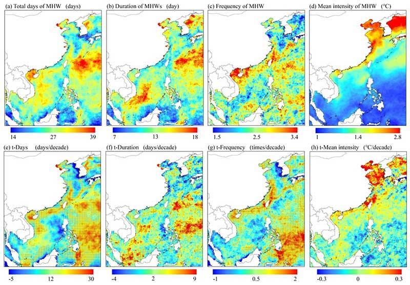 南京大学邹欣庆课题组与合作者在近海海洋热浪领域研究取得进展