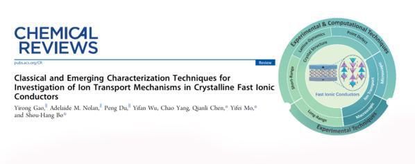 上海交大薄首行科研团队在《化学评论》发表固态离子导体的综述论文